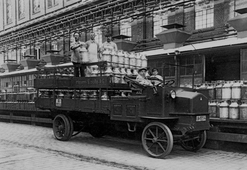 Bolles Köche - Historie - Milchwagen